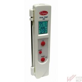 Thermomètre à cœur et en surface infrarouge