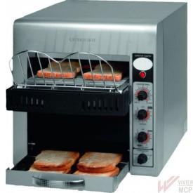 Toaster à tunnel professionnel et plateau chauffant