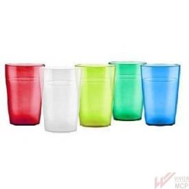 Verres colorés résistants sans BPA pour EHPAD et écoles