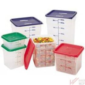 Boîte à provision en polypropylène translucide