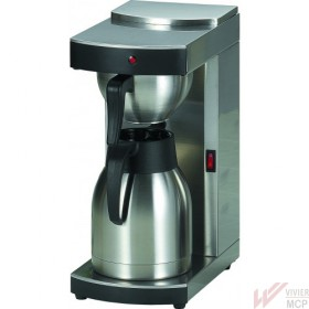 Cafetière automatique inox 1,5l