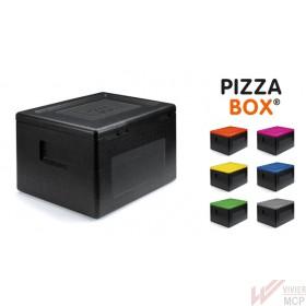 Caisson isotherme 36l pour livraison de pizzas