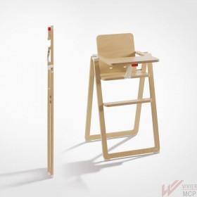 Chaise haute ultra pliante professionnelle pour enfant