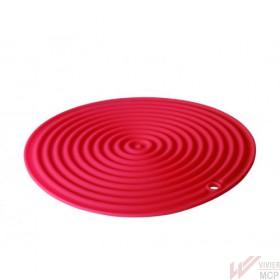 Dessous de plat rond en silicone