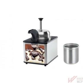 Distributeur chocolat avec pompe et bec chauffant