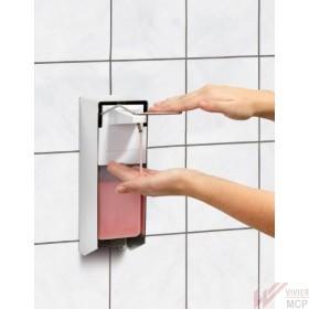 Distributeur de savon commande au coude