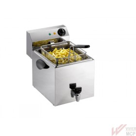 Friteuse électrique de 8 à 20 litres à poser