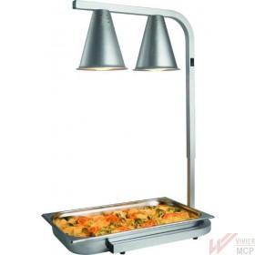 Lampe chauffe plat à lampes infrarouges