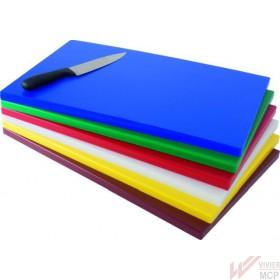 Planche à découper colorée en polyéthylène GN1/1