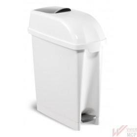 Poubelle hygiénique de 23 litres à large ouverture