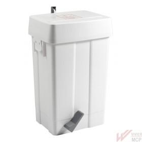 Poubelle hygiénique à couches de 25 litres