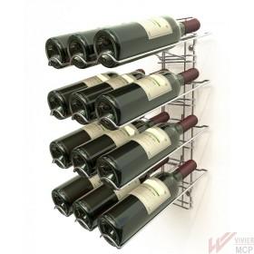 Présentoir porte bouteilles de vin de 75cl