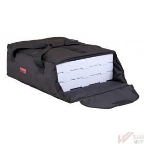 Sac de transport isotherme pour boites à pizzas rouge ou noir